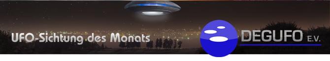 Rubrik UFO-Sichtung